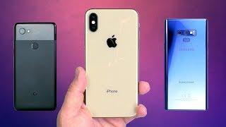 ТЕСТ КАМЕР: iPhone Xs vs Samsung Galaxy Note 9 vs Pixel 2 XL