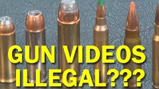Gun Talk Illegal?  ITAR Gag Order on guns? No Firearm Speech Online? ITAR. WeaponsEducation
