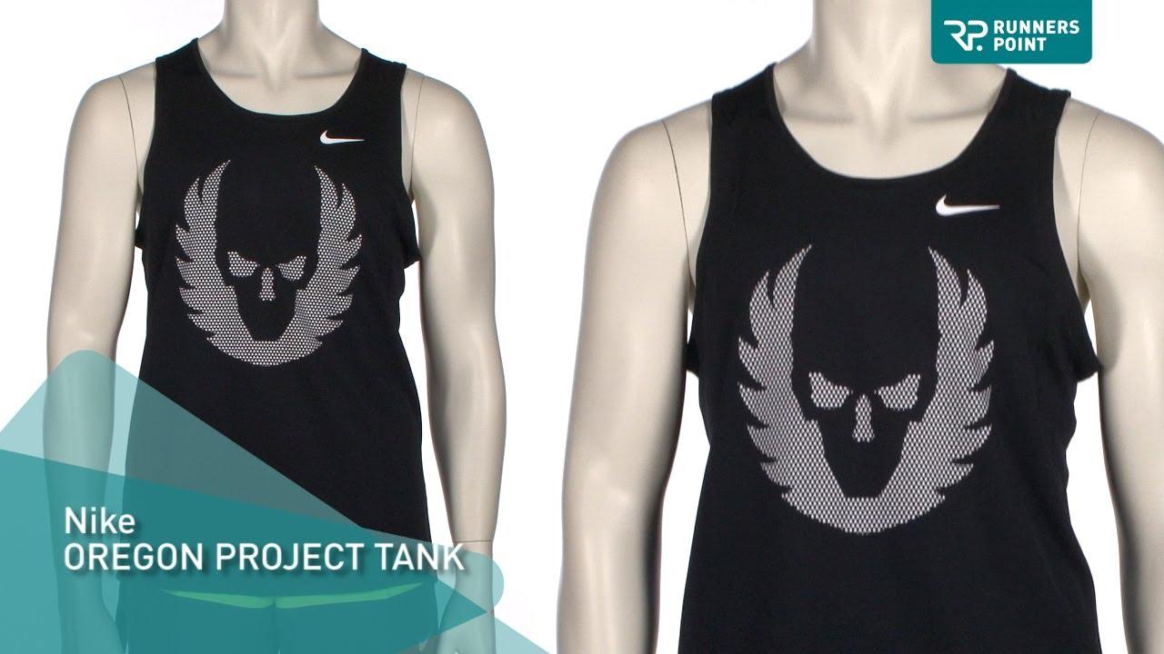 Herren Laufshirt Nike Oregon Project Tank - YouTube
