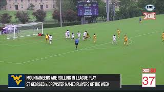 Big 12 in 60 - West Virginia Soccer is on Fire