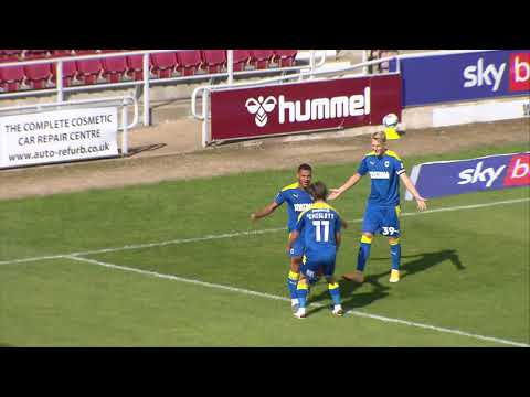 Northampton AFC Wimbledon Goals And Highlights