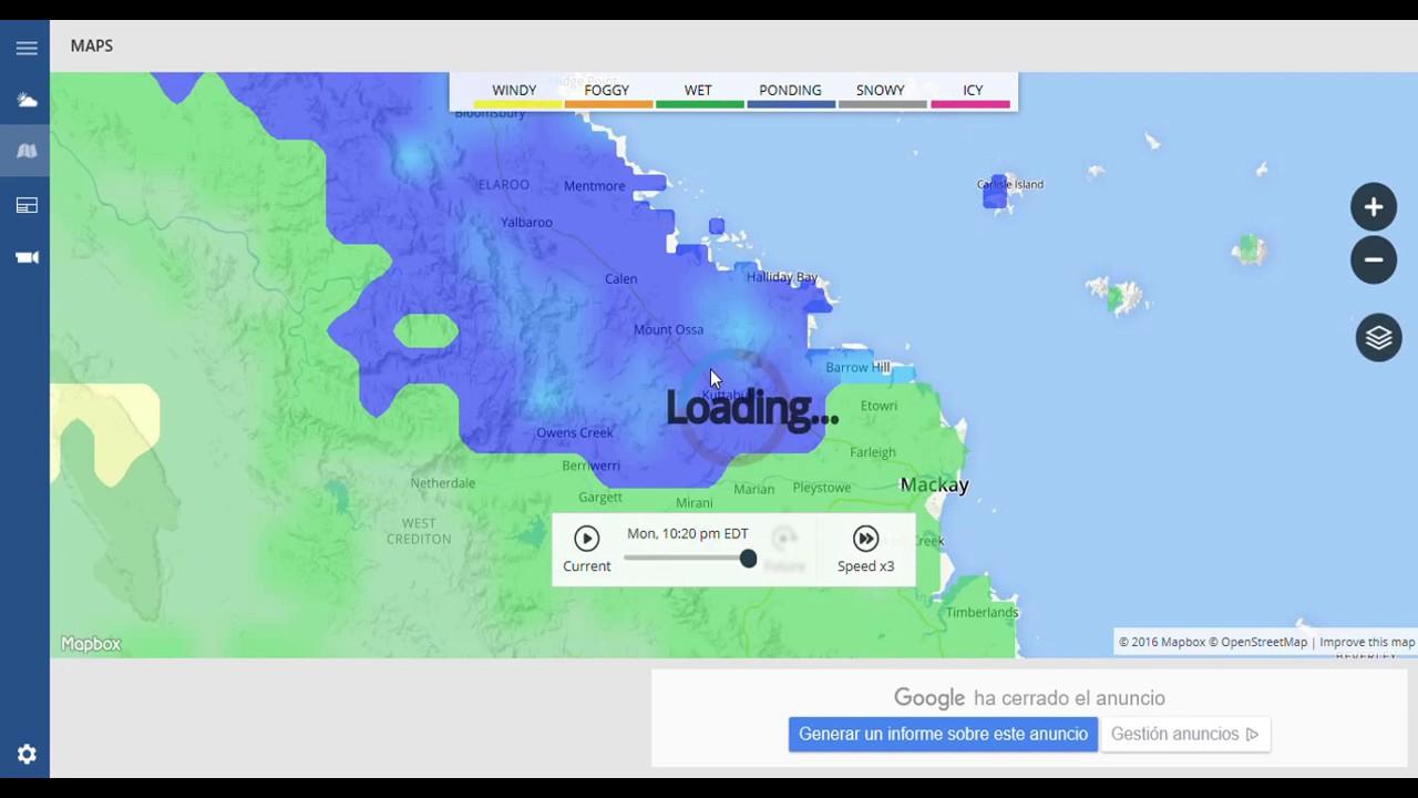 the weather channel radar cyclone debbie making landfall