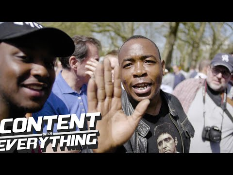 Moses - On His Attack Of The Masked Muslim | Speakers Corner Hyde Park