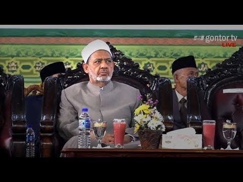 Live - Visit of Grand Syaikh Al-Azhar to Gontor for Girl