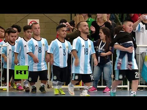 BRAZIL AND ARGENTINA  FOOD BALL PLAY