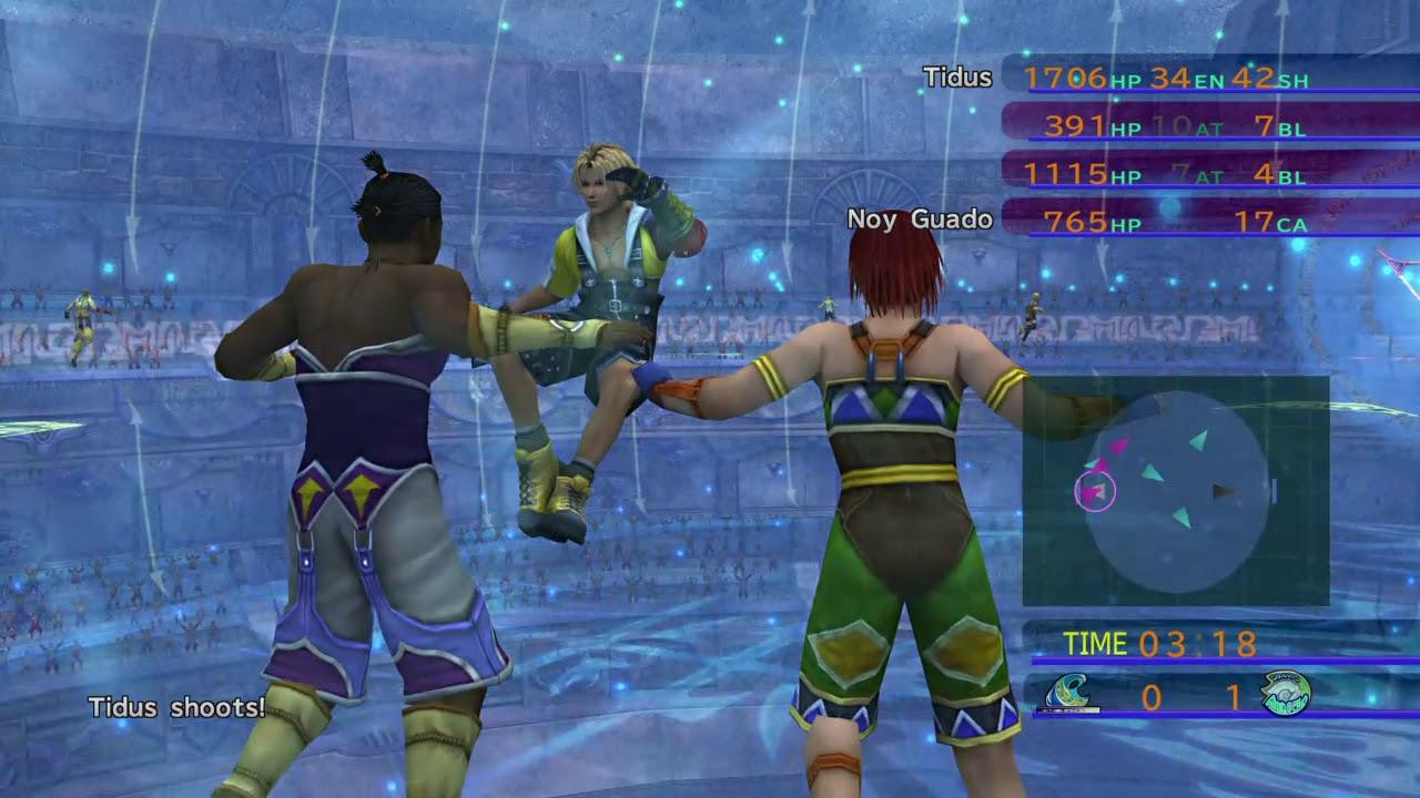 Image result for final fantasy x remaster blitzball