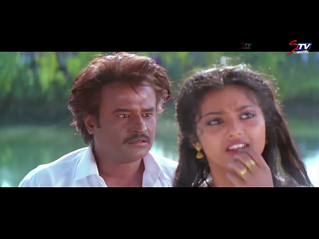 Veera Tamil Movie Comedy Scenes - 2   Rajnikanth ,Meena , Senthil    Full HD   STV Movies