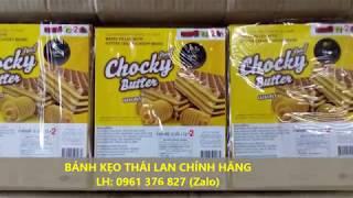 Bánh kẹo Thái Lan chính hãng