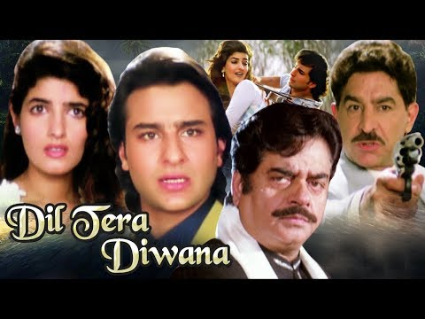 Hindi Action Movie | Dil Tera Diwana | Showreel | Saif Ali Khan | Twinkle Khanna