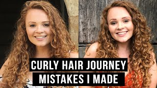 10 THINGS I WISH I KNEW BEFORE STARTING MY CURLY HAIR JOURNEY