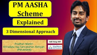 PM AASHA Scheme for UPSC | 3 Dimensional Approach | Adil Baig | KingMakers IAS Academy