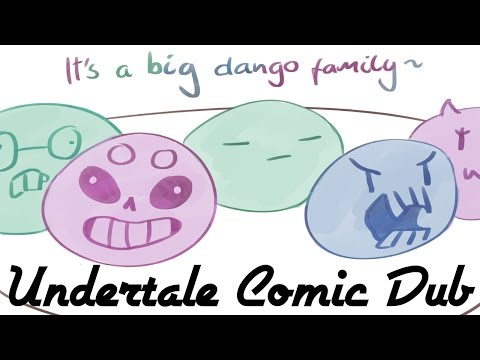 A Big Dango Family! - Undertale Comic Dub