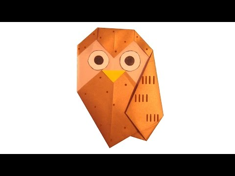 Оригами сова juravliki.ru
