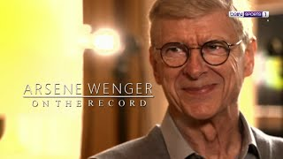 Arsene Wenger exclusive interview