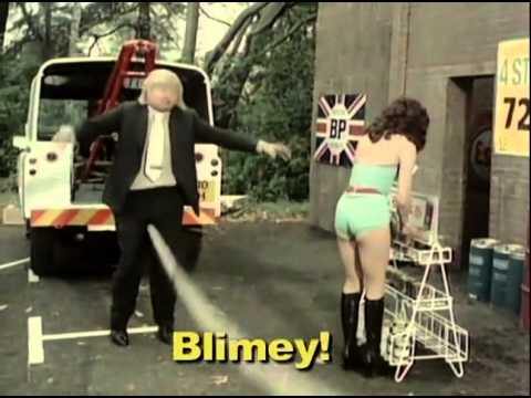 Benny hill soldier fart