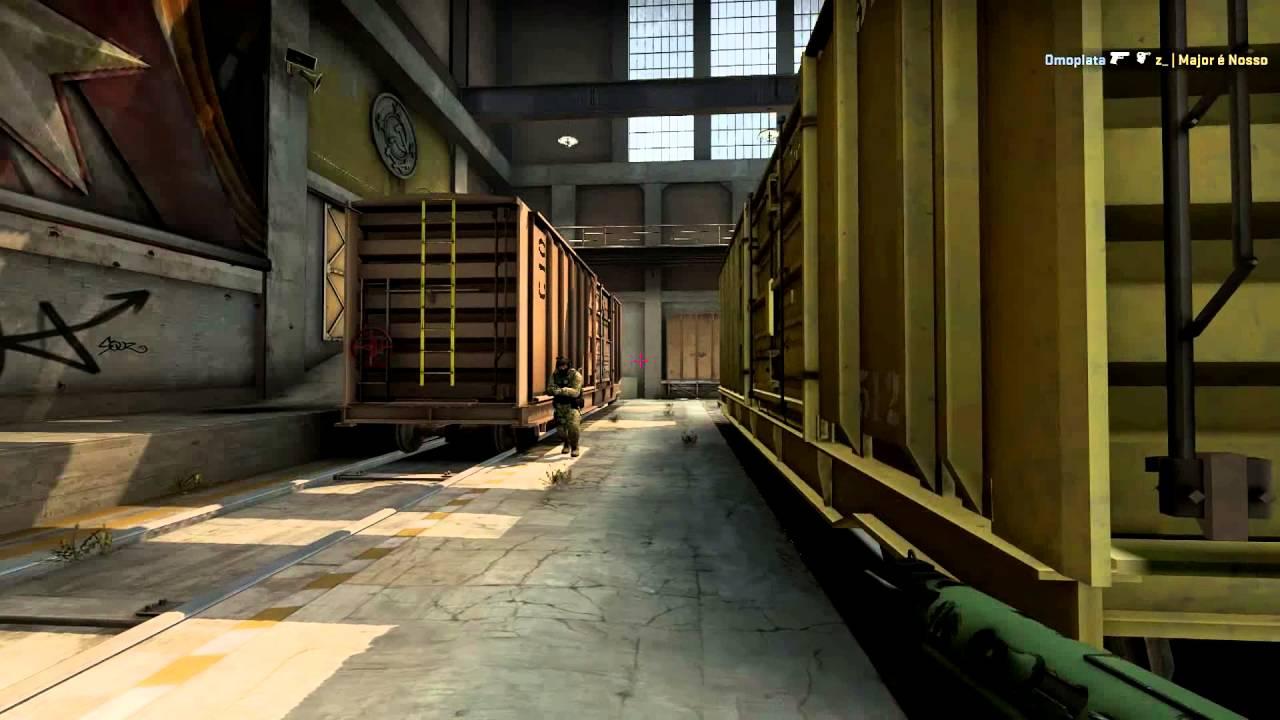 CSGO 4K TEC-9 TRAIN ᴴᴰ
