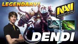 Dendi Legendary Pudge | Dota 2 Pro Gameplay