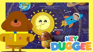 HEY DUGGEE & The Solar System Badge Best kids learning video planets