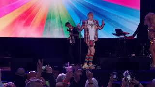 Let's Rock Scotland 2019 - Erasure's Andy Bell singing Stop