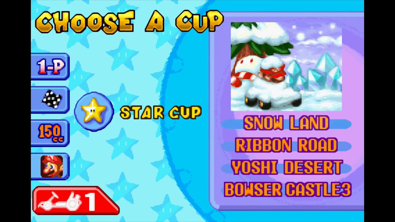 mario kart super circuit gba 04 star cup 1080p 60 youtube. Black Bedroom Furniture Sets. Home Design Ideas