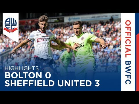 HIGHLIGHTS | Bolton Wanderers 0-3 Sheffield United