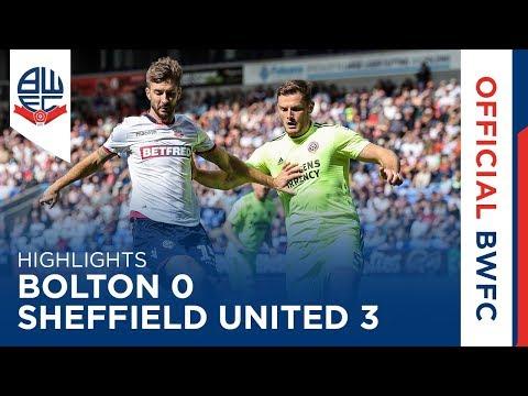 HIGHLIGHTS | Bolton Wanderers 0-3 Sheffield United