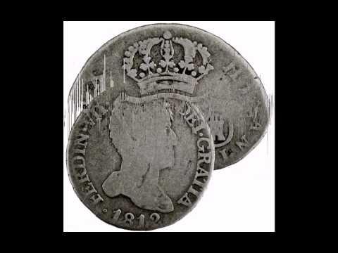 1812 IJ Spain Ferdinand VII silver 2 reales 4