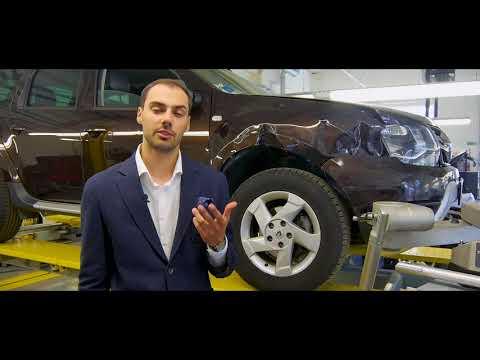 Кузовной ремонт в фирменном сервисе Renault в Беларуси.