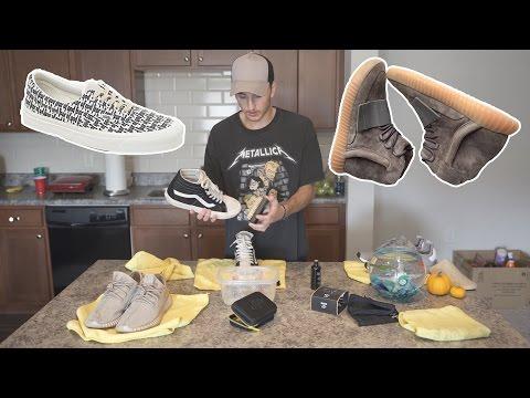 Sneaker Cleaning Session & Hangout #1 (Shoe Release Talk (FOG Vans Era + Yeezy 750 Brown!)