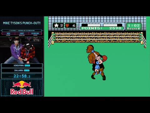 Beat of Sports - These Two Guys Beat Punch-Out Using One Controller While Blindfolded!