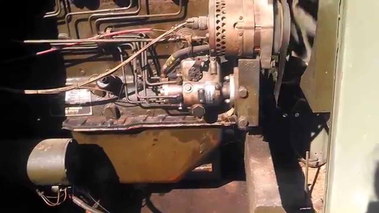 Mep 005a Military Generator Set Diesel Engine 30 Kw