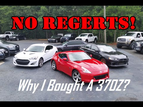 Why I Bought A Nissan 370Z: Over The 3.8, Evo X And WRX!