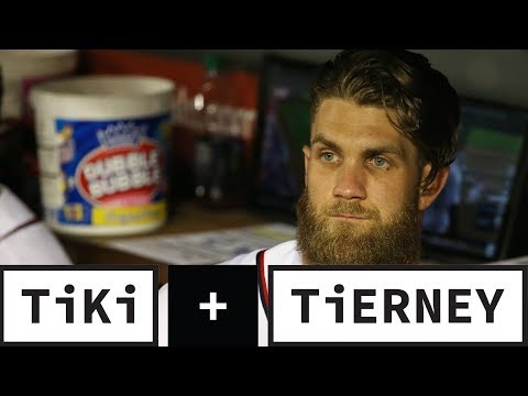 Bryce Harper Signs With The Phillies   Tiki + Tierney