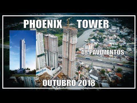 PHOENIX TOWER - FG - 48P - Obras Outubro 2018 - Balneário Camboriú