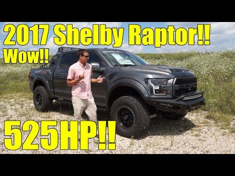 2017 Shelby Raptor F150!! WOW! 525HP! Exhaust, Full Walkaround and Description! MUST SEE!!