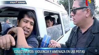 Top 5 ránking 'colectiveros': violencia y amenaza en las pistas