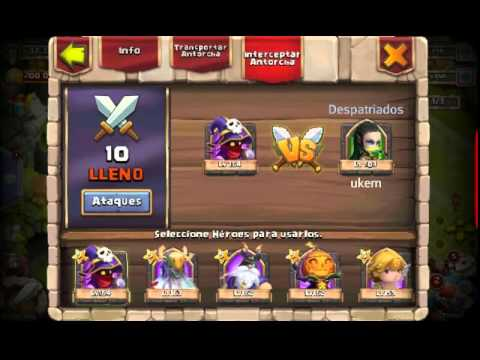 Castle Clash - Torch Battle (140 Torches) + Rewards!!
