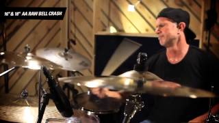 "Cymbal Vote - Chad Smith - Demo - 16""-18"" AA Raw Bell Crash"