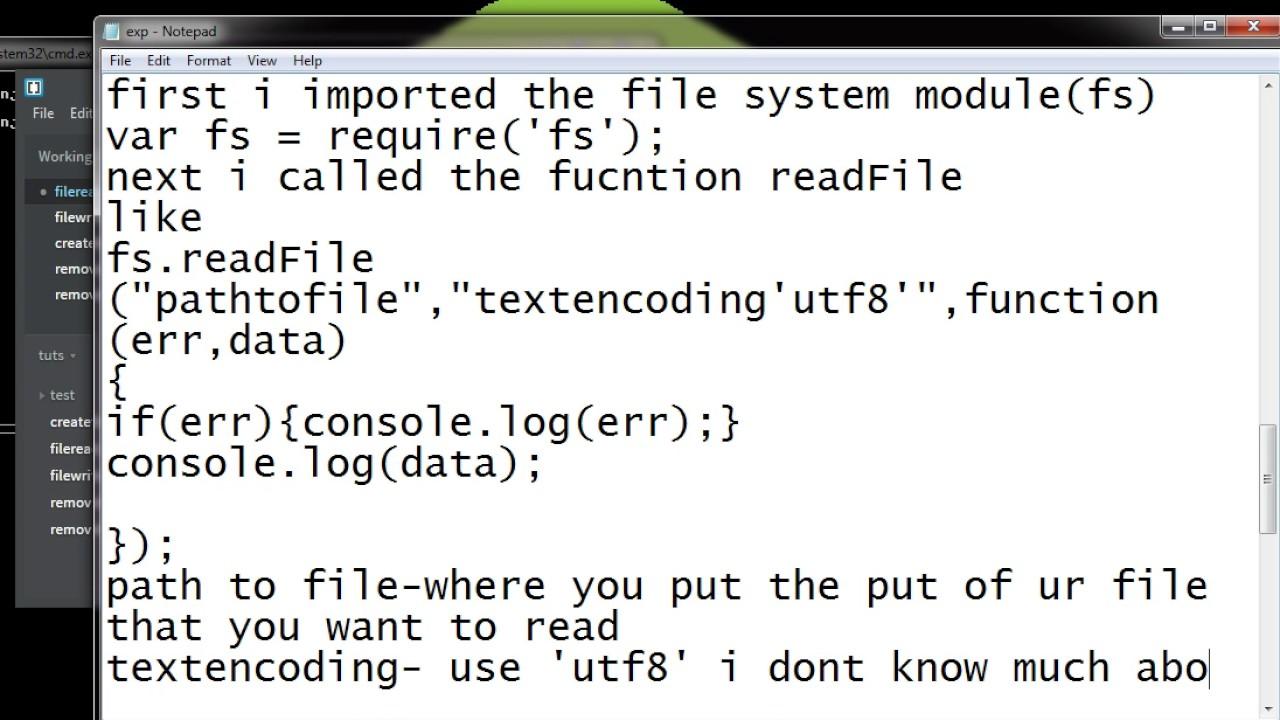 fs create file