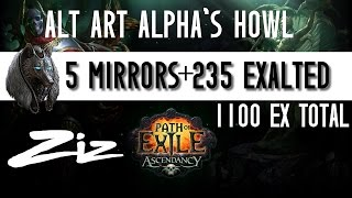 ZIZ - 1100 EX Alpha howl Alt art finally!