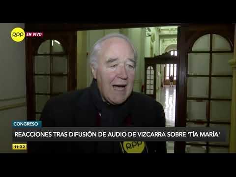 """Congreso: Reacciones tras difusión de audio de Vizcarra sobre """"Tía María"""""""