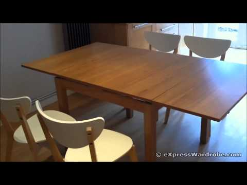 IKEA BJURSTA Extendable Dining Table Design