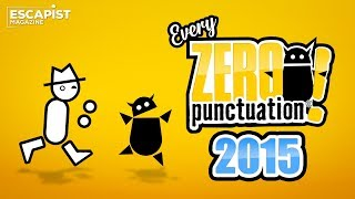 Every 2015 Zero Punctuation with No Punctuation