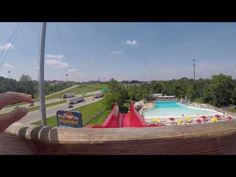 The Cliff water slide at The Beach Water Park (July 16th, 2017)
