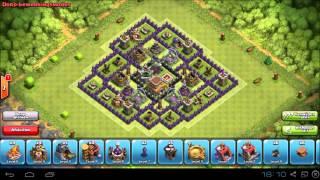 Clash of Clans Town Hall 8 Hybrid base setup - Painkiller - Nitrix