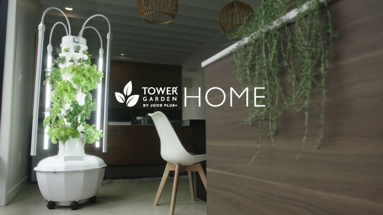 Meet Tower Garden HOME: Simple Indoor Vertical Gardening