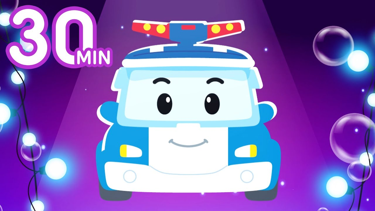 Download Robocar POLI Homeschooling Kids Songs | 30 Min | Learn ABC, Numbers and the World! | Robocar POLI TV
