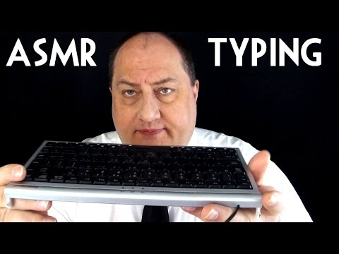 Typing an Application ASMR