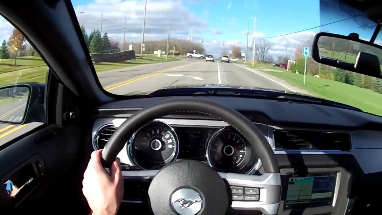 2014 Ford Mustang GT Track Pack WR TV POV Test Drive