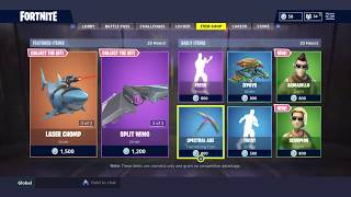 NEW ARMADILLO AND SCORPION SKIN IN Fortnite Battle Royale